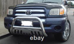 Stainless Bull Bar Brush Push Grille Guard Front Bumper Fit 05-15 Toyota Tacoma