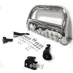Stainless Bull Bar Push Bumper Grille Guard For 1999-2006 Toyota Tundra/Sequoia