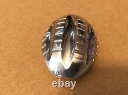Stainless Steel Push Egg Haptic Fidget Slider Clicker Rare EDC Numbered