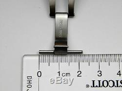 Stainless Steel Replacement PANERAI Fold Over Watch Clasp with Push Button 22mm