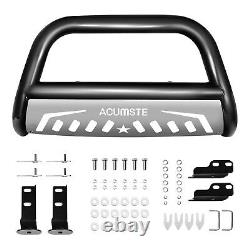 Steel Front Bumper Bull Bar Grille Guard Skid Plate For Ford F-150 Expedition