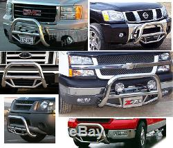 Super Bull Bar Toyota Tacoma 2005-15 chrome Bumper Push Grill Stainless Steel