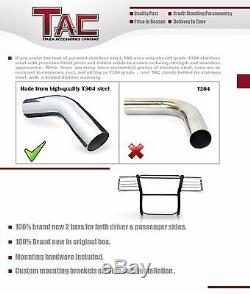 TAC GRILL GUARD S/S Brush Nudge Push Bull Bar For 2010-2019 DODGE RAM 2500/3500