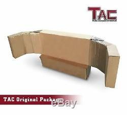 TAC Grill Guard Black for 2016-2020 Nissan Titan XD Brush Nudge Push Bull Bar