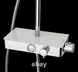 TRITON HP/COMBI Push Button Bar Exposed Thermostatic Mixer Shower with Diverter