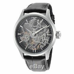Thomas Earnshaw ES-8061-01 Men's BAUER SHADOW Mechanical Skeleton 42mm Watch