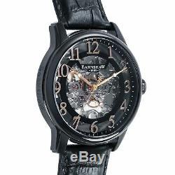 Thomas Earnshaw ES-8062-08 Men's LONGITUDE Mechanical Skeleton 43mm Watch