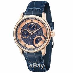 Thomas Earnshaw ES-8104-05 Men's LONGITUDE MULTI-FUNCTION Quartz 42mm Watch