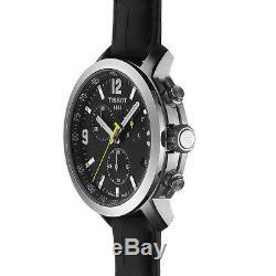 Tissot T055.417.16.057.00 Gents Watch Chronograph Xl Leather Quartz