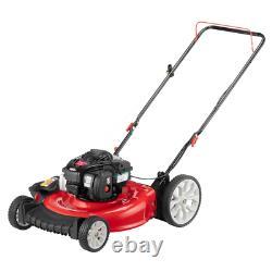 Troy-Bilt Push Lawn Mower 15-Gauge Foldable Handle High Wheel Gas Stamped