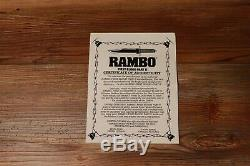 UCRB2 Rambo First Blood Part II Knife Vintage Knife United Cutlery