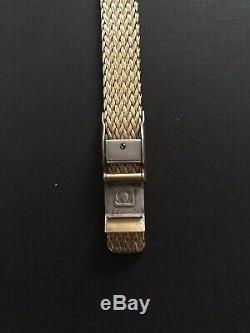 Vintage OMEGA DE VILLE Quartz Watch Push-button Crown 1387 ED 6020/345