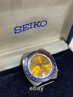 Vintage Seiko 6139-6005 Gold Dial Pogue