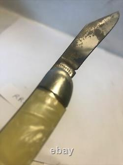 Vtg Imperial Blade Folding Knife Mop Push Spring Asst Toothpick P-2170537