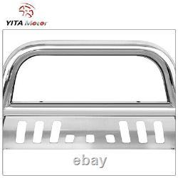 YITAMOTOR 3 Bull Bar Push Bumper Grille Guard for 08-21 Toyota Tundra/Sequoia